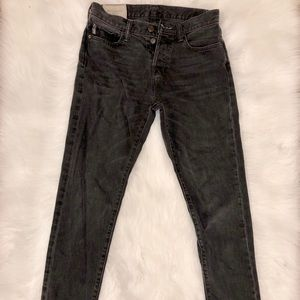 Abercrombie & Fitch classic taper jeans